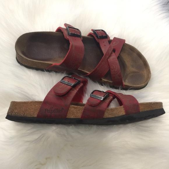 Papillio by Birkenstock Red Sandals